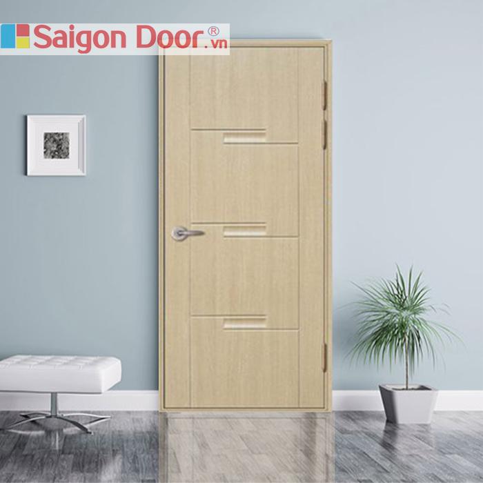 Người dùng có nhiều sự lựa chọn về chất liệu cửa phòng ngủ