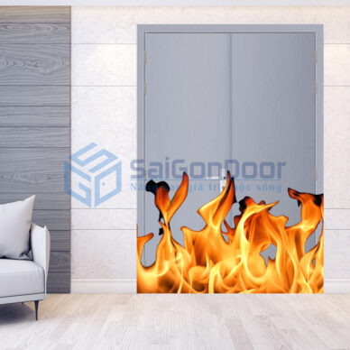Cửa chống cháy là gì?. TOP 30 mẫu cửa chống cháy 60 phút 90 phút 120 phút
